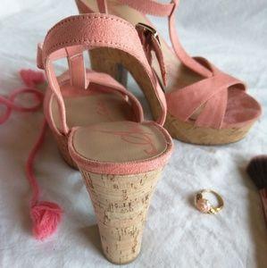 fb82b6b19f6b American Rag Shoes - American Rag Jamie Plush Pink Platform  Sandals